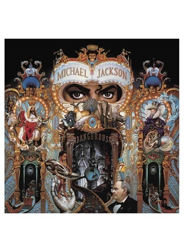 ESEN Elektronik Michael Jackson - Dangerous 2'li LP Plak Renkli